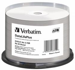 DVD-R VERBATIM 4.7 GB 16x Spindle 50  szt.