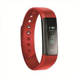 Opaska sportowa smartwatch ACT101R czerwona