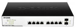 Switch Smart 10xG E 2SFP PoE DGS-1100-10MP