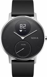 Withings Steel HR - smartwatch z pomiarem pulsu (36mm, czarny)