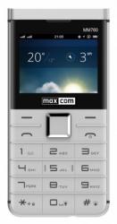 Telefon MAXCOM MM 760 Dual SIM Biały