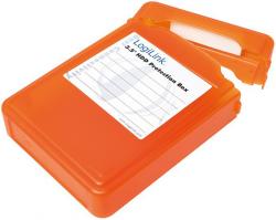 Pudełko ochronne do HDD 3.5', pomarańczowe