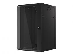 Szafa serwerowa wisząca 19cali 18U 570X600 czarna