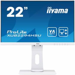 Monitor IIYAMA 21.5 1920 x 1080 XUB2294HSU-W1 Biały