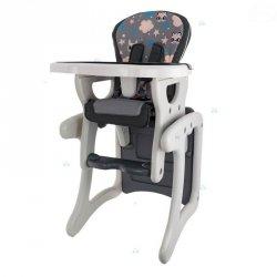 Krzesełko do Karmienia Hb-Gy01 Szare #D1
