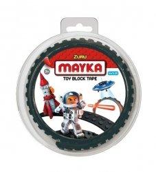 Mayka Taśma do Klocków 1 Metr Czarna Podwójna