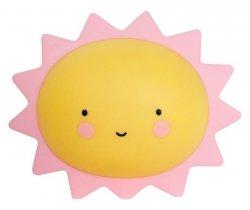 Lampka Nocna Słonko Żółta Cute #E1
