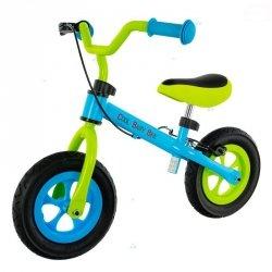 Rowerek biegowy Cool Air Green/Bl Hamulac V Brake #D1