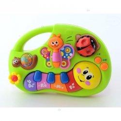 Zabawka Pianinko Edukacyjne Zwierzątka #D1