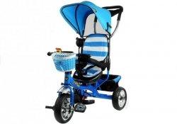 Rowerki Trójkołowe Pro300 Niebieski Koła Eva #C1