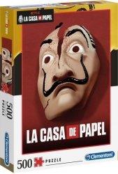 PUZZLE DOM Z PAPIERU 500 LA CASA DE PAPEL CLEMENTONI
