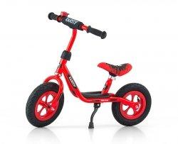 Rowerek biegowy Dusty Red 10 Cali #B1