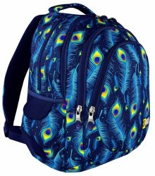 Plecak Młodzieżowy 2018 Peacock Bp-06 St.Right Gratis