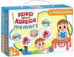 Gra Rodzinna Dzieci Kontra Rodzice Memory w Przedszkolu