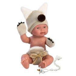 Hiszpańska lalka bobas chłopiec Bebito Wilczek – 26cm #T1