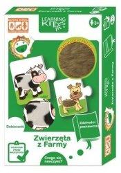 Learning Kids Układanka Edukacyjna - Zwierzęta z Farmy
