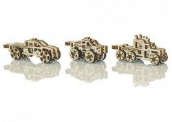 Drewniane puzzle mechaniczne 3D - Gadżety Ciężarówki #T1