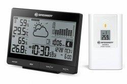 Stacja meteorologiczna Bresser Tendence WSX z całodobowym wykresem ciśnienia barometrycznego