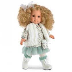 Hiszpańska lalka dziewczynka Elena blond - 35cm #T1