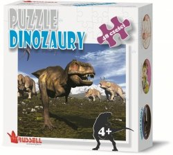 Puzzle Edukacyjne 48 el. Dinozaury