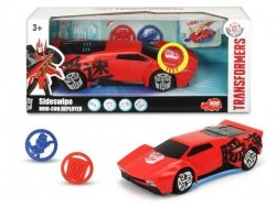 Transformers Sideswipe Wyrzutnik Krążków 4004