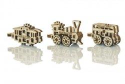 Drewniane puzzle mechaniczne 3D - Gadżety Transport #T1