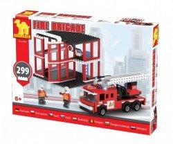 Klocki Straż Pożarna Remiza 21504 299 elementów