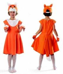 Strój Lisiczka 98 104 Kostium Przebranie Sukienka