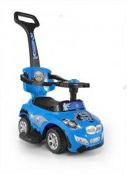 Jeździk Pojazd Happy 3 w 1 Niebieski #B1