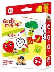 Edukacyjna Książeczka z  Puzzlami dla Dzieci od 2 lat Czuczu