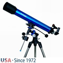 Teleskop refrakcyjny Meade Polaris 90 mm EQ
