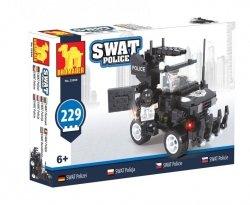 Klocki Swat Policja Samochód Policyjny 229 elementów