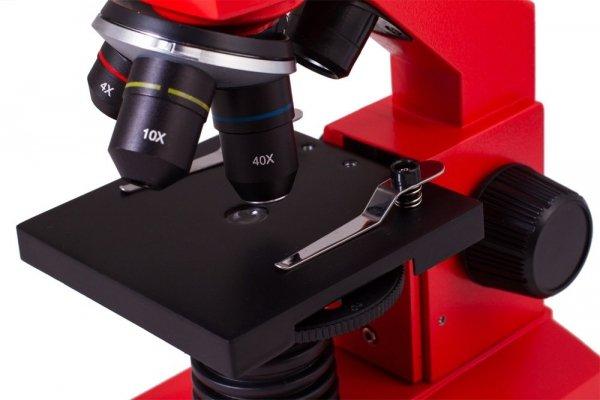 Mikroskop Levenhuk Rainbow 2L PLUS OrangePomarańcza
