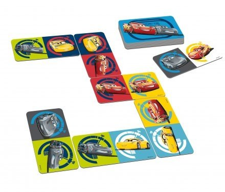 Gra Logiczna Gigantyczne Domino Auta Cars 3 Tactic