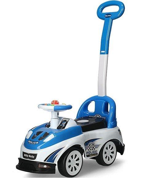 Jeździk Pojazd Bravo Police Policja Niebieski #B1