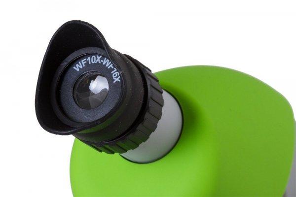 Mikroskop Bresser Junior 40x-640x, zielony