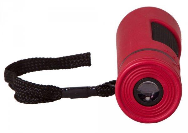 Monokular Bresser Topas 10x25, czerwony