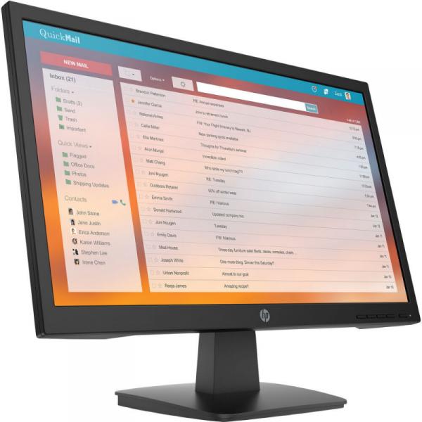 "Monitor HP 21.5"" 1920 x 1080 453D2AA Czarny"