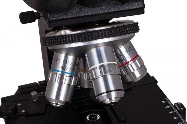 Mikroskop dwuokularowy Levenhuk 850B