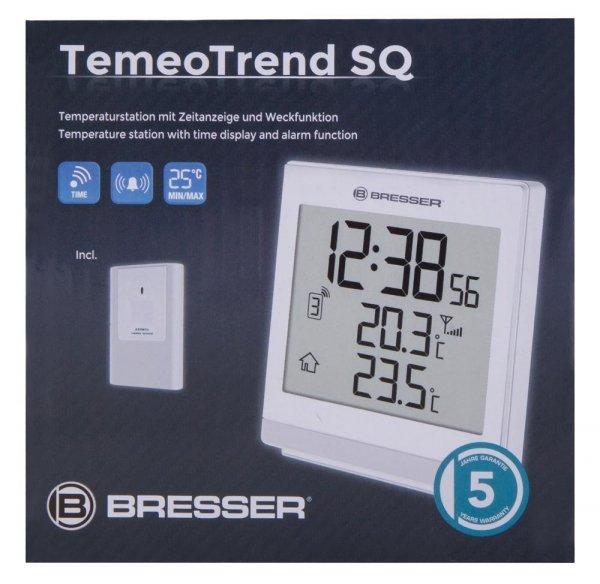 Stacja meteorologiczna Bresser TemeoTrend ST RC, czarna