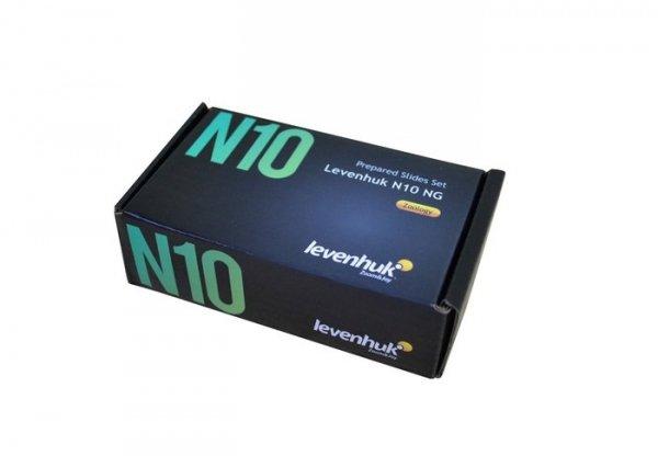 Zestaw gotowych preparatów Levenhuk N10 NG