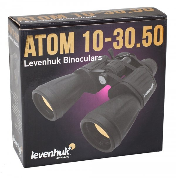 Lornetka Levenhuk Atom 10-30x50
