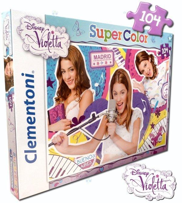 Puzzle 104 el. Violetta