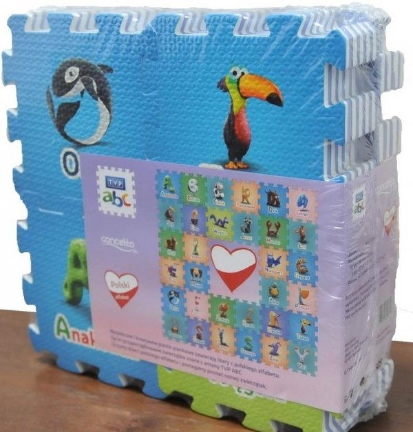 Concetto puzzle piankowe TVP ABC MINI 33 elementy #W1