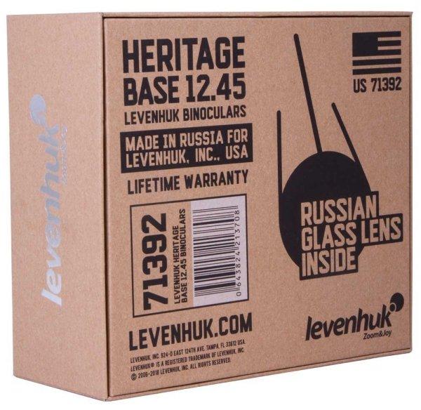 Lornetka Levenhuk Heritage BASE 12x45
