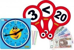 Kuferek Ucznia Zestaw Pomocy Edukacyjnych Adamigo