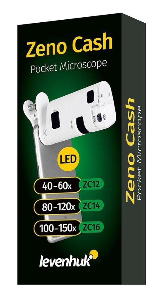Mikroskop kieszonkowy Levenhuk Zeno Cash ZC16