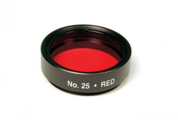 """Filtr optyczny #25 (czerwony) 1,25"""" Levenhuk"""