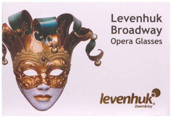 Lornetka teatralna Levenhuk Broadway 325N (czarny lorgnon z oświetleniem LED)