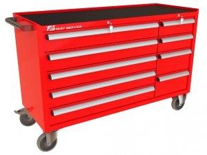 Wózek narzędziowy MEGA z 9 szufladami PM-215-23